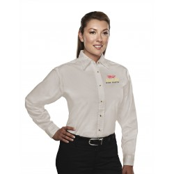 Ladies Twill Easy Care Long Sleeve | OEM Parts