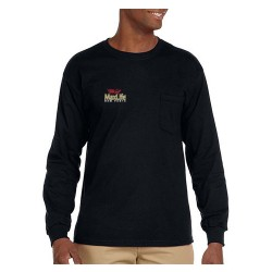 Ultra Cotton Pocket T-shirt Long Sleeve | OEM Parts