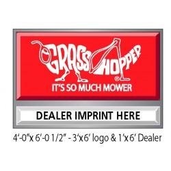 Illuminated Sign w/ Dealer Imprint [Single-face]