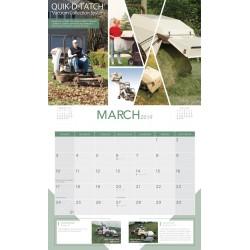 2019 Grasshopper Calendar
